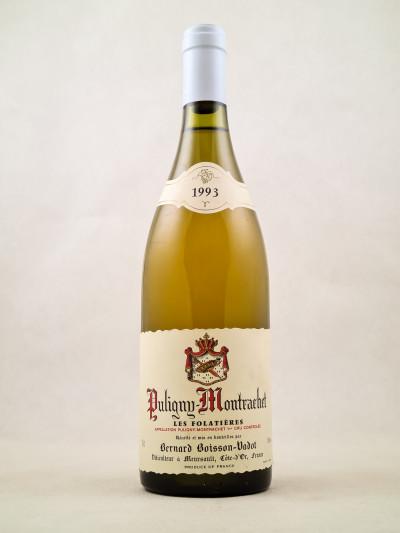 """Boisson-Vadot - Puligny Montrachet 1er cru """"Les Folatières"""" 1993"""