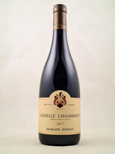 Ponsot - Chapelle Chambertin 2017
