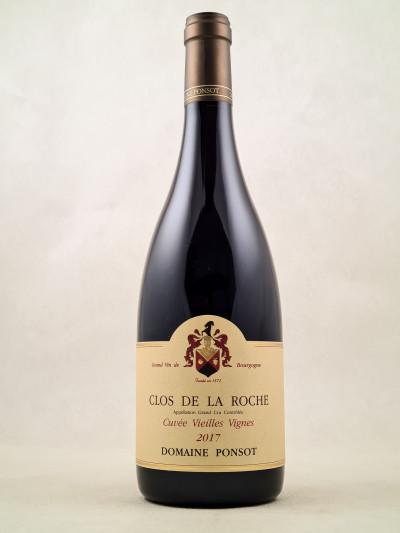 """Ponsot - Clos de la Roche """"Vieilles Vignes"""" 2017"""