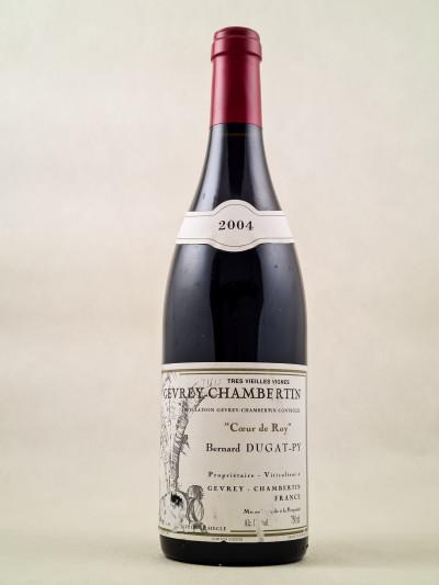 """Dugat Py - Gevrey Chambertin """"Cœur de Roy"""" 2004"""