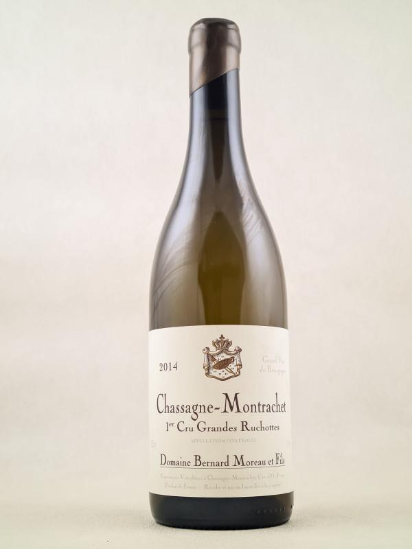 "Bernard Moreau - Chassagne Montrachet 1er cru ""Grandes Ruchottes"" 2014"