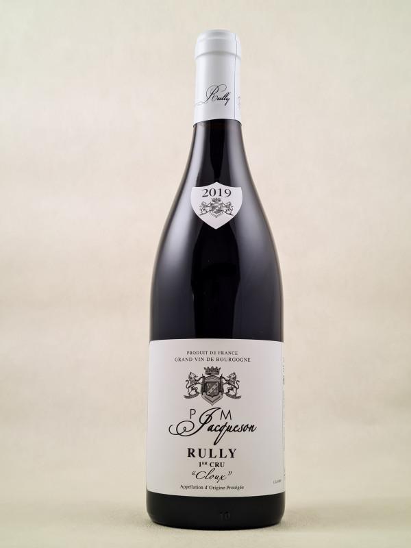 """Jacqueson - Rully 1er cru """"Cloux"""" 2019"""