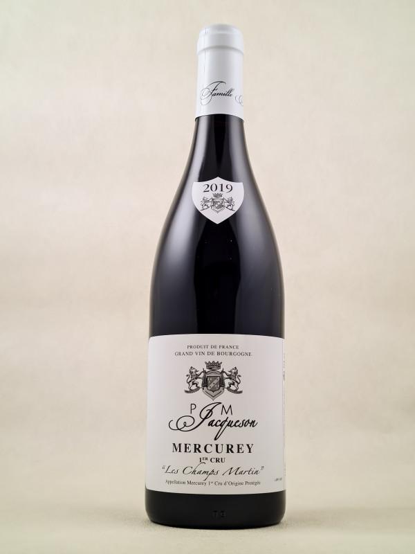 "Jacqueson - Mercurey 1er cru ""Les Champs Martin"" 2019"