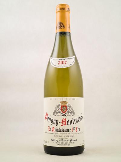 "Matrot - Puligny Montrachet 1er cru ""Quintessence"" 2017"