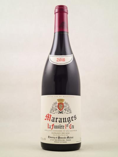 """Matrot - Maranges """"La Fussière"""" 1er Cru 2016"""