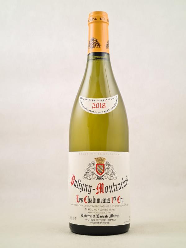 "Matrot - Puligny Montrachet 1er cru ""Chalumeaux"" 2018"