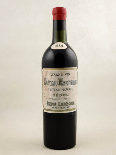 Martinens - Margaux 1934