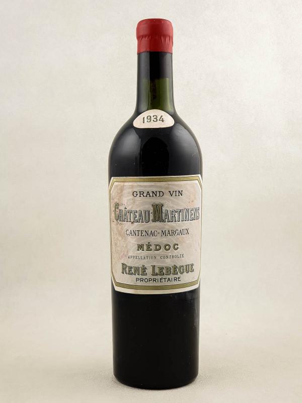 Martinens - Margaux 1934
