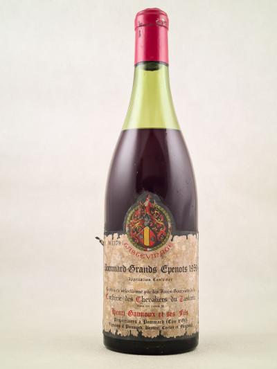 """Gaunoux - Pommard 1er cru """"Grands Epenots"""" 1959"""