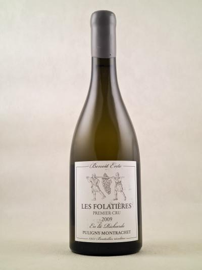"""Benoit Ente - Puligny Montrachet 1er Cru """"Les Folatières"""" 2009"""