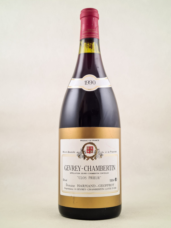 "Harmand-Geoffroy - Gevrey Chambertin ""Clos Prieur"" 1990"