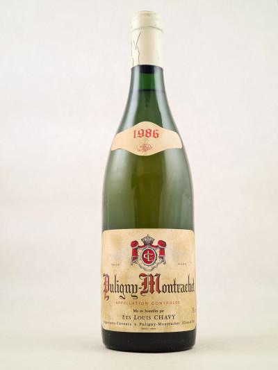 Louis Chavy - Puligny Montrachet 1986