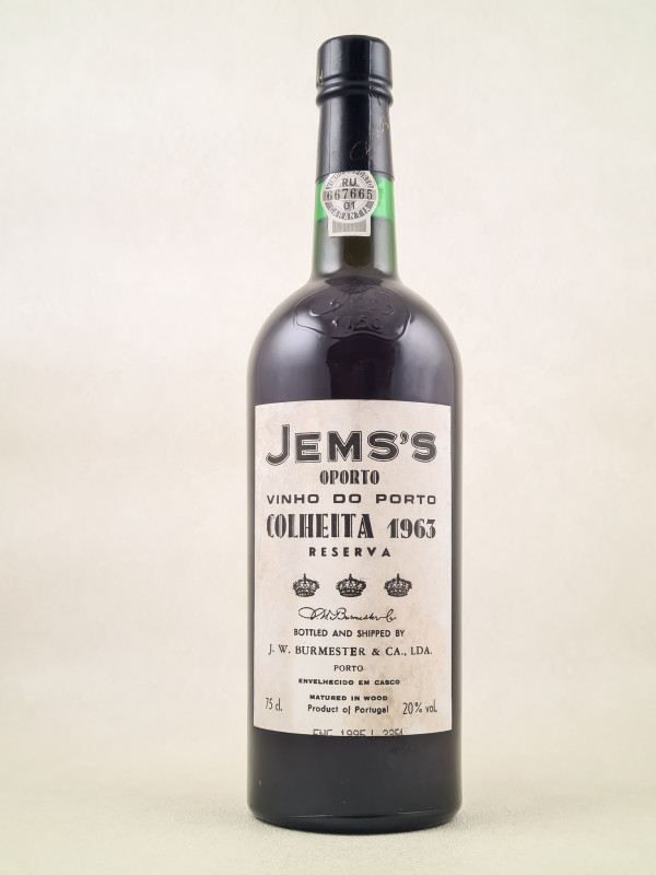 JW Burmester - Porto Colheita 1963