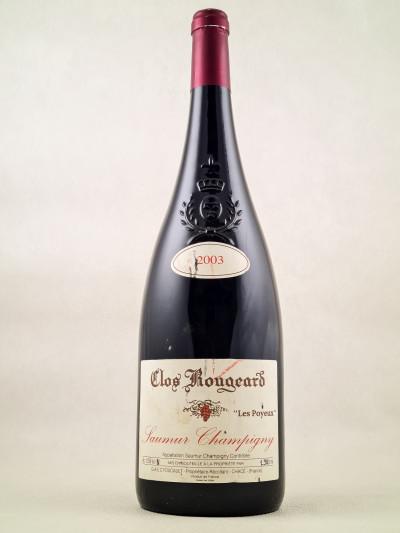"Clos Rougeard - Saumur Champigny ""Poyeux"" 2003 MAGNUM"