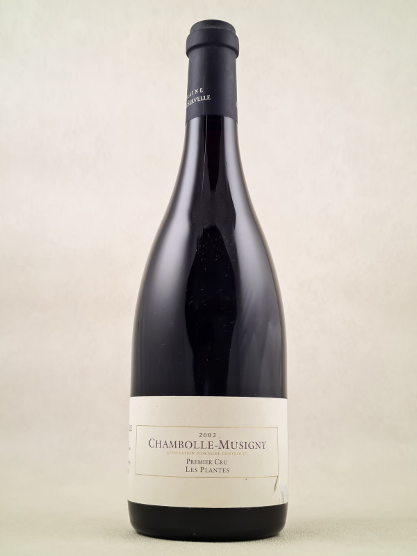 """Amiot Servelle - Chambolle Musigny 1er cru """"Les Plantes"""" 2002"""