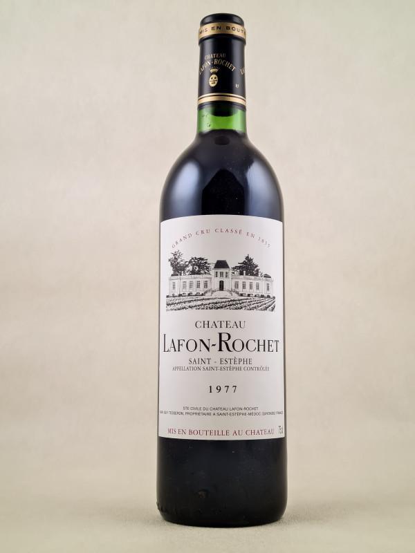 Lafon Rochet - Saint Estèphe 1977