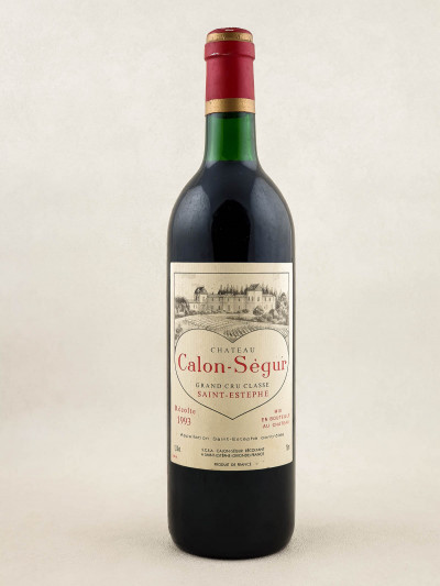 Calon Ségur - Saint Estèphe 1993