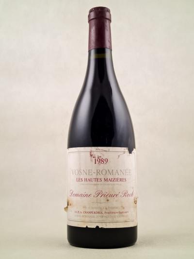 """Prieuré Roch - Vosne Romanée """"Les Hautes Maizières"""" 1989"""