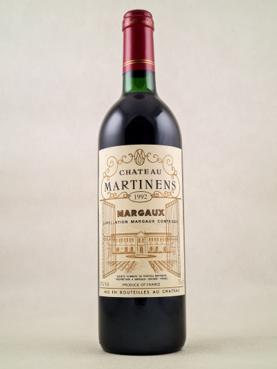 Martinens - Margaux 1992