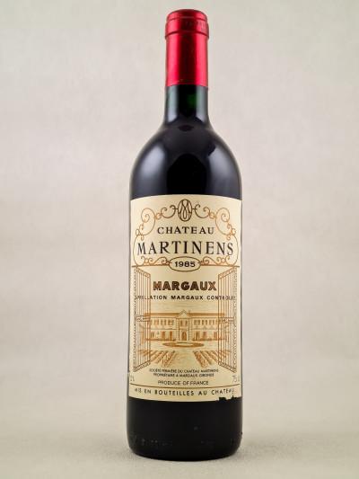 Martinens - Margaux 1985