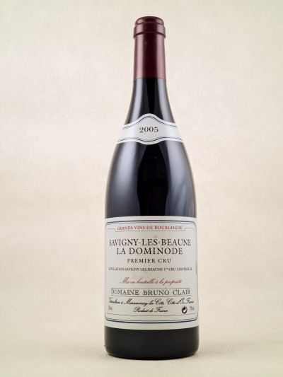 "Bruno Clair - Savigny Les Beaune 1er Cru ""La Dominode"" 2005"