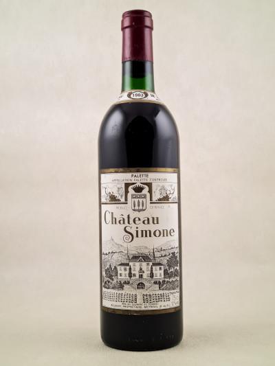 Château Simone - Palette Famille Rougier 1983