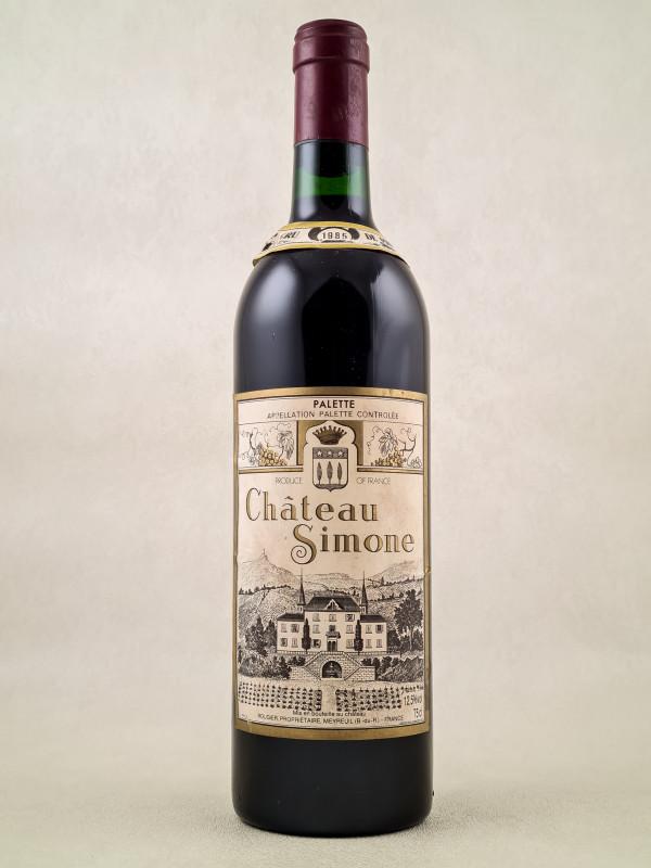 Château Simone - Palette Famille Rougier 1985