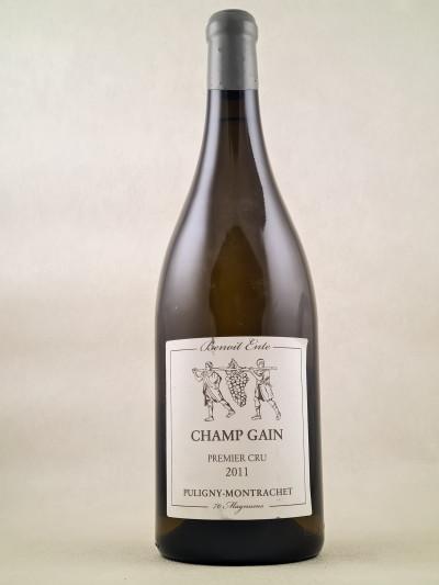 "Benoit Ente - Puligny Montrachet 1er Cru ""Champ Gain"" 2011 MAGNUM"