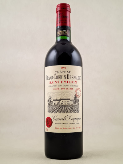 Grand Corbin Despagne - Saint Emilion 1975