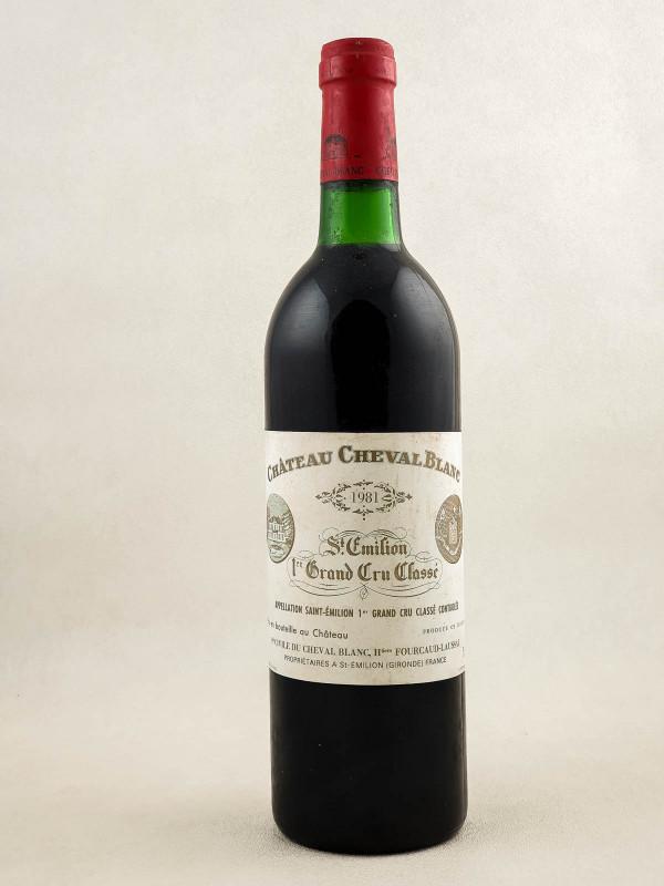 Cheval Blanc - Saint Emilion 1981