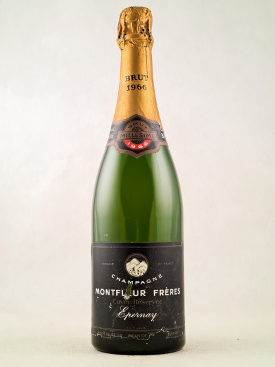 "Montfleur - Champagne ""Epernay"" Brut 1966"