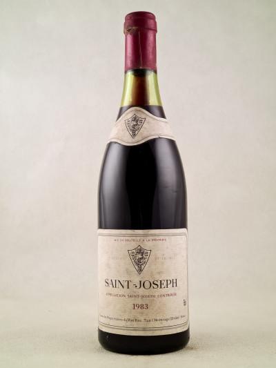 Union des Propriétaires de Vins Fins - Saint Joseph 1983