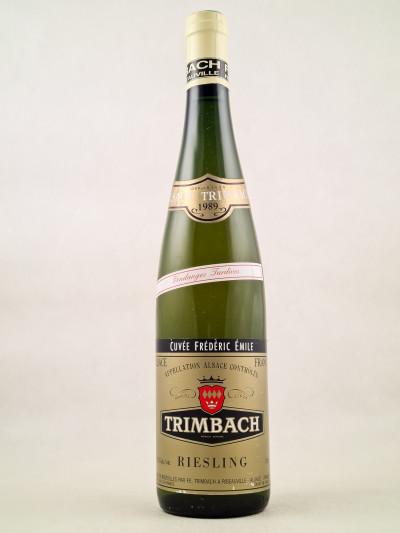 """Trimbach - Riesling """"Cuvée Frédéric Emile"""" 1989"""