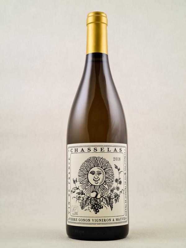 """Pierre Gonon - Vin de France """"Chasselas"""" 2018"""