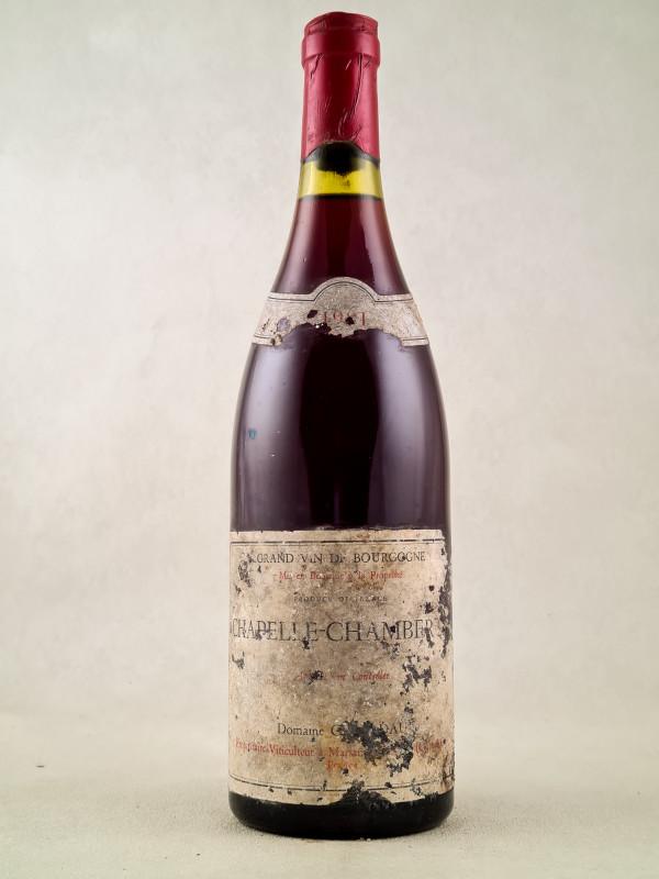 Clair Dau - Chapelle Chambertin 1981