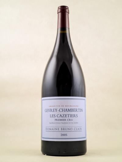 "Bruno Clair - Gevrey Chambertin 1er cru ""Cazetiers"" 2005"