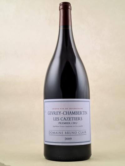 "Bruno Clair - Gevrey Chambertin 1er cru ""Cazetiers"" 2009 MAGNUM"