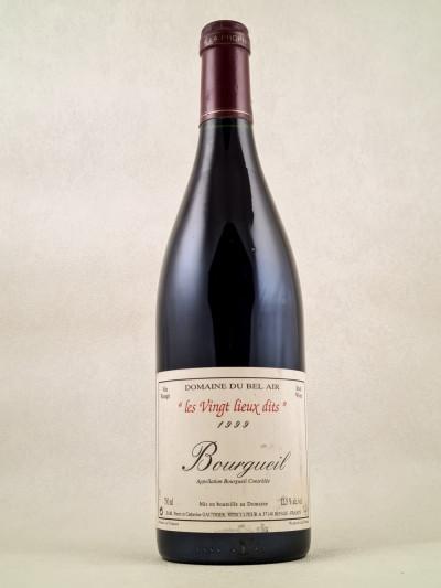 """Domaine du Bel Air - Bourgueil """"Les Vingt Lieux Dits"""" 1999"""
