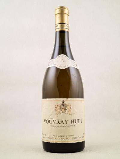 Huet - Vouvray 1989