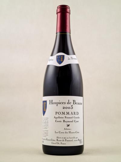 """Hospices de Beaune - Pommard """"Cuvée Raymond Cyrot"""" 2003"""