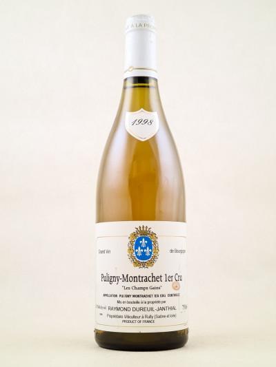 """Dureuil Janthial - Puligny Montrachet 1er Cru """"Les Champs Gains"""" 1998"""