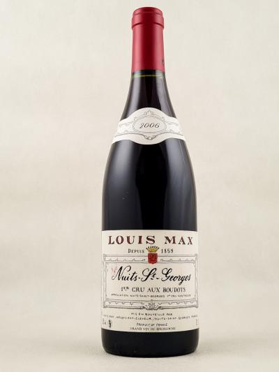 """Louis Max - Nuits Saint Georges 1er cru """"Aux Boudots"""" 2006"""