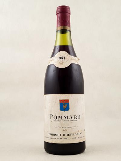 Dumont d'Arvignac - Pommard 1982