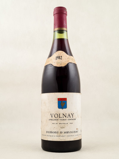 Dumont d'Arvignac - Volnay 1982