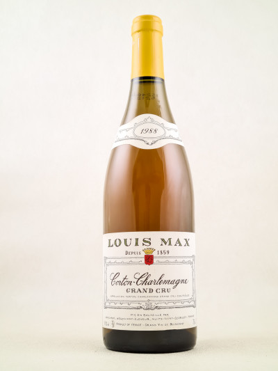 Louis Max - Corton Charlemagne 1988