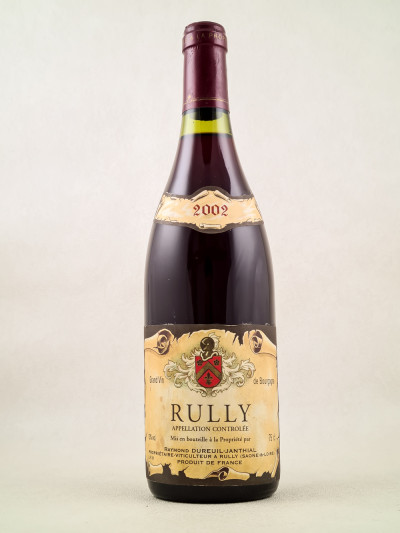 Dureuil Janthial - Rully rouge 2002