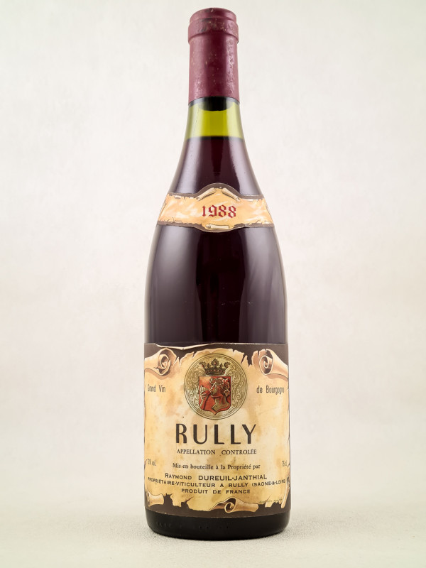 Dureuil Janthial - Rully rouge 1988
