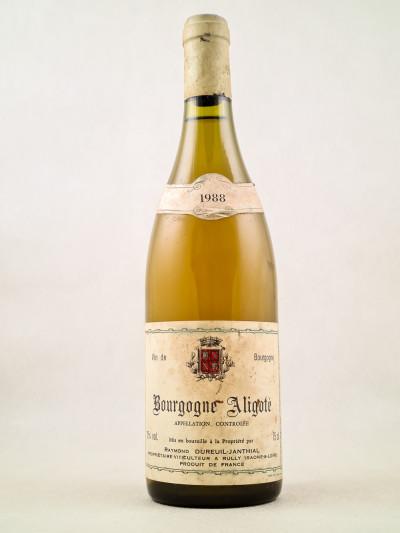 Dureuil-Janthal - Bourgogne Aligoté 1988