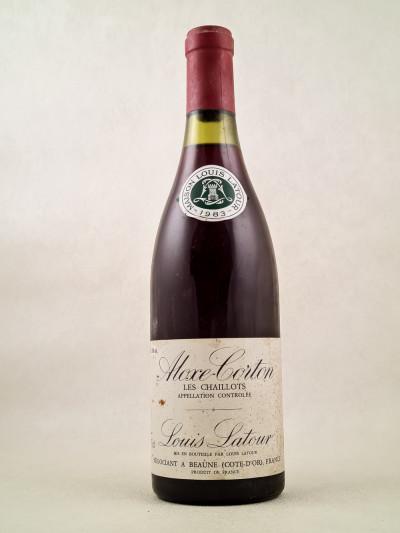 "Louis Latour - Aloxe Corton ""Les Chaillots"" 1983"