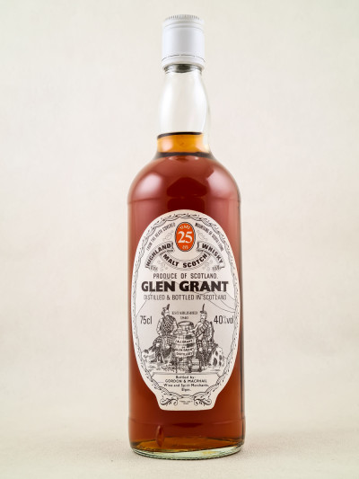 Glen Grant - Whisky Single Malt 25 Years